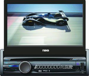 Naxa Ncd 705 7 Inch Touch Screen Lcd Display Motorized Slide Down Full Detachable Stereo Am Fm Radio Multimedia Player Car Audio Systems Touch Screen Fm Radio