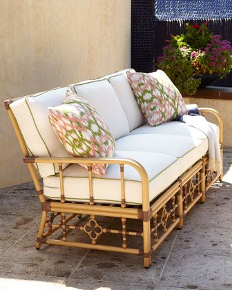 Lane Venture Mimi Outdoor Sofa Crespi, Lane Venture Outdoor Furniture