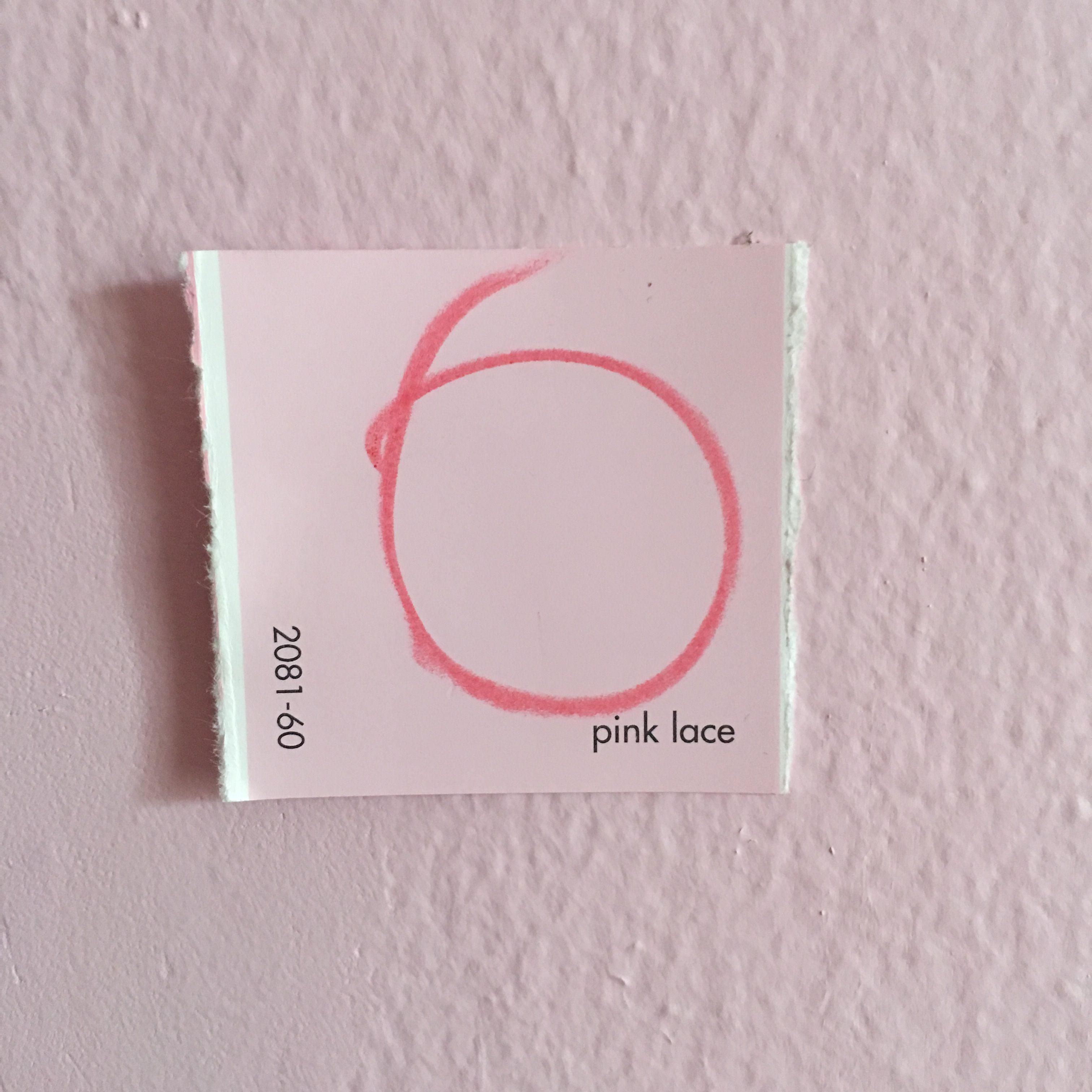 Benjamin Moore Pink Lace Bedroom Color