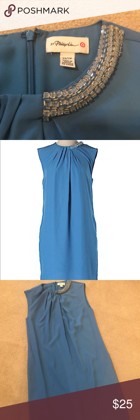 Philip Lim For Target Blue Dress Clothes Design Target Dresses Dresses [ 1740 x 580 Pixel ]