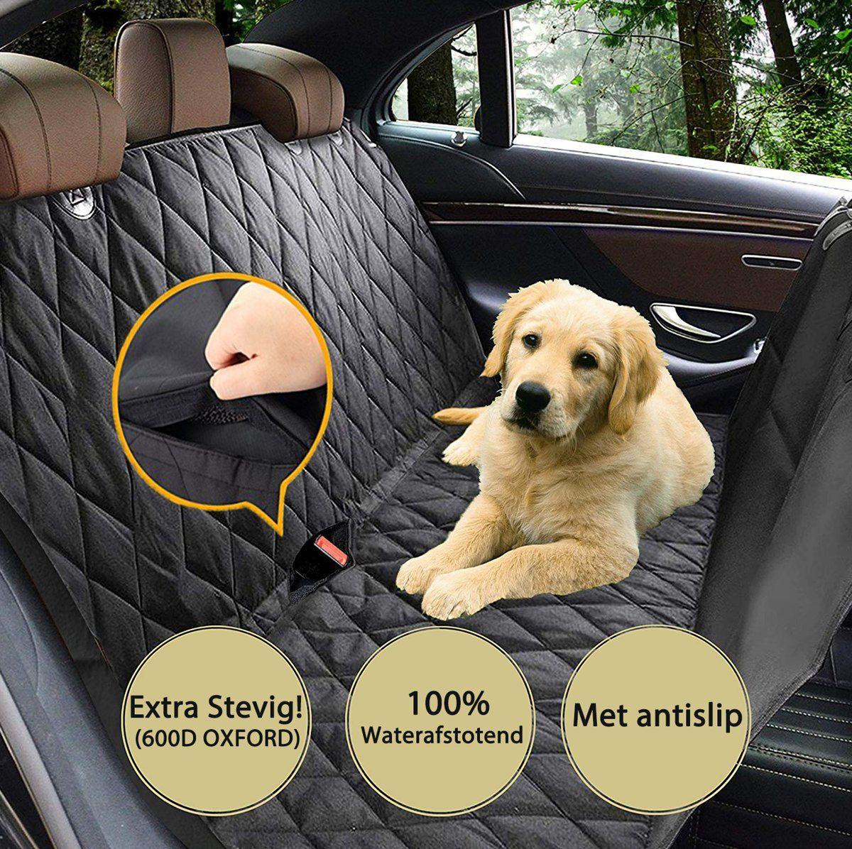 Impaqt Auto Hondendeken Zwart 140 X 150 Cm Auto Honden Hondenkleding