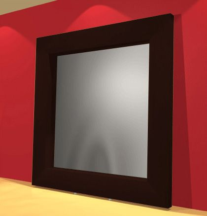 Red Rhode - Leaning-Mirror-Frame-8-x-8--7-x-7