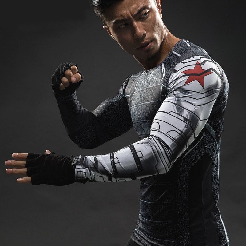 Grab yourself this Winter Soldier Compression Shirt today while supplies last!        >>>>> Buy it now  http://bit.ly/2fcp2cV