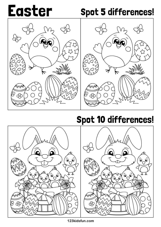 Easter Kolorowanki Inspiracje Wielkanocne I Przedszkole