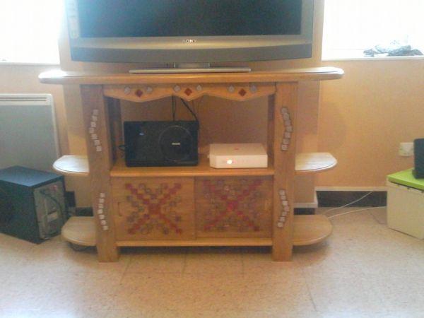 Meuble TV avec incrustation par Fabien81 - Meuble Tv Avec Rangement