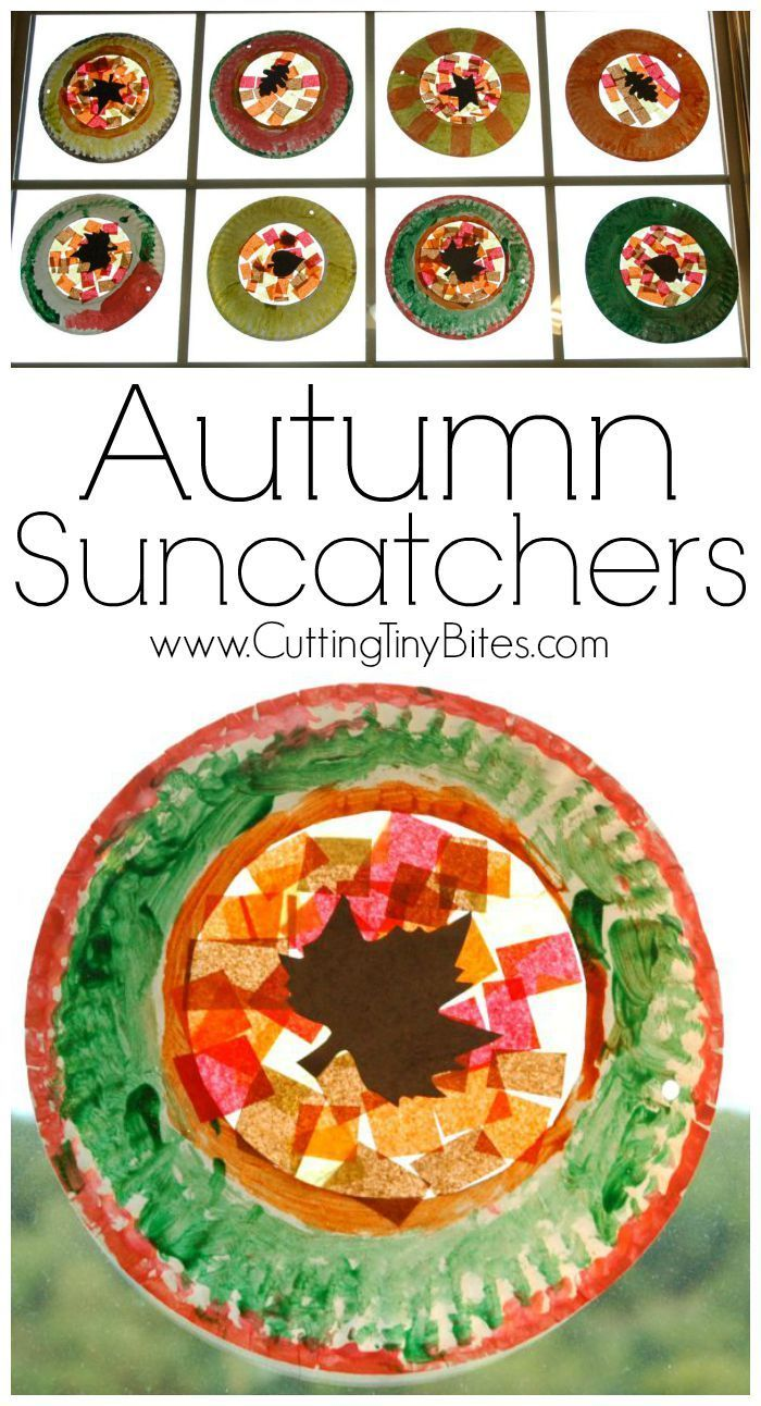 Fall colors activities for toddlers - Beautiful Suncatcher Leaf Craft For Fall Perfect For Preschoolers Or Elementary Children