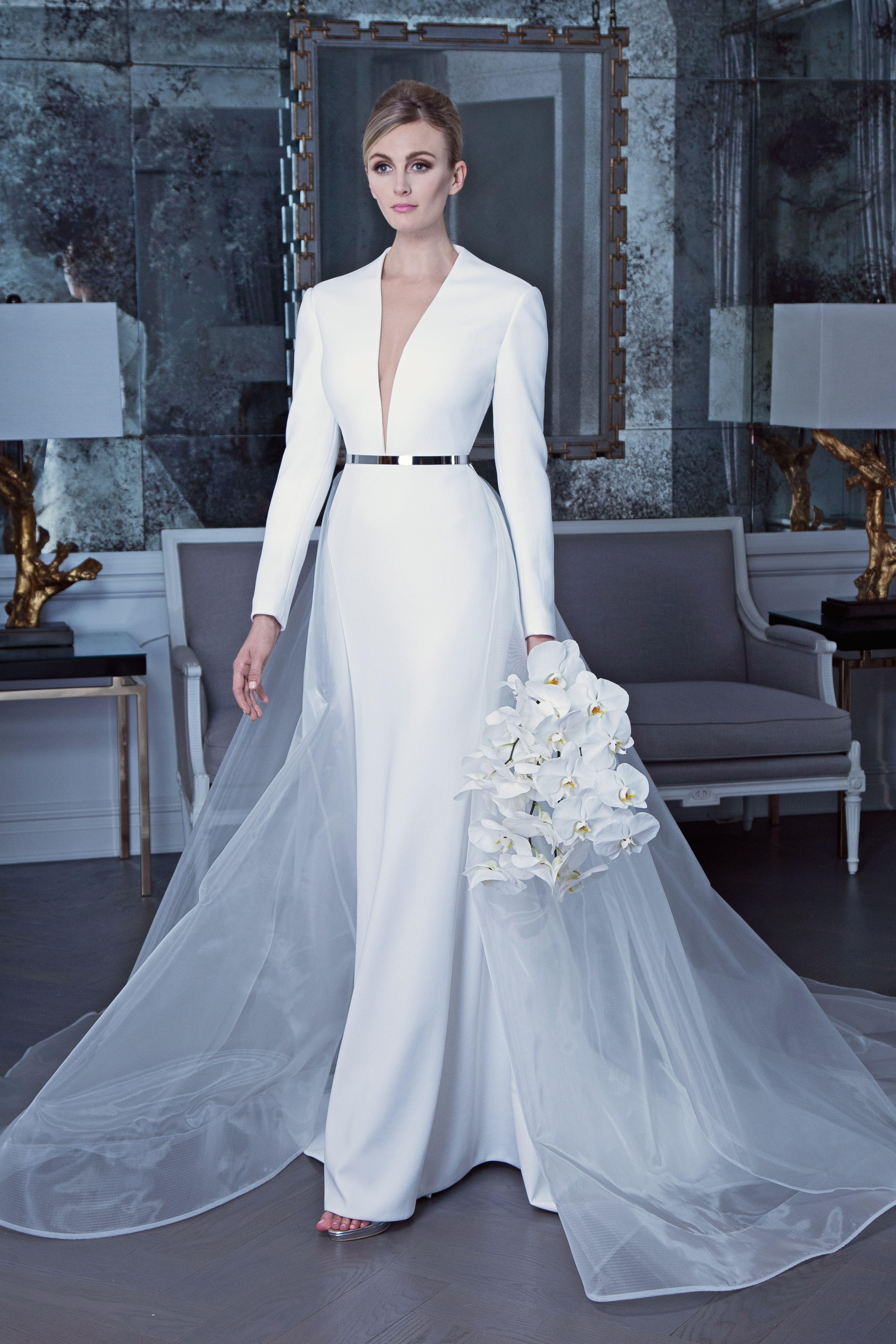 Casual Elegant Wedding Gowns 2019