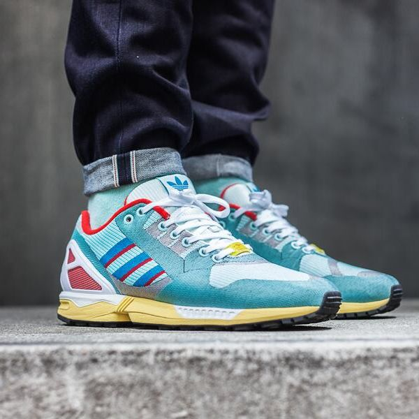 adidas Originals ZX Flux 'OG Weave Pack' - ZX 9000 via adidas