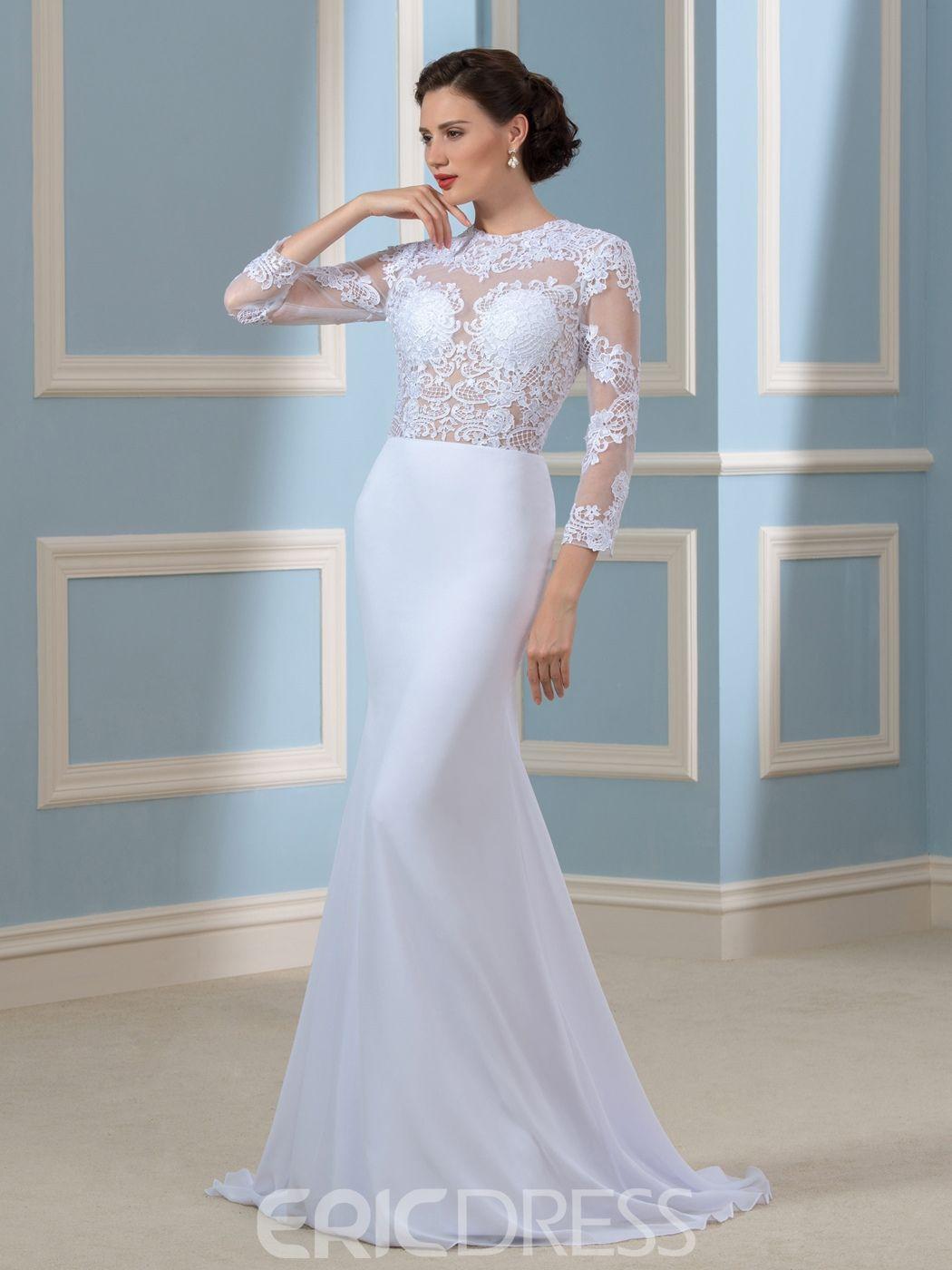 99+ Mermaid Wedding Dress with Sleeves - Best Shapewear for Wedding ...