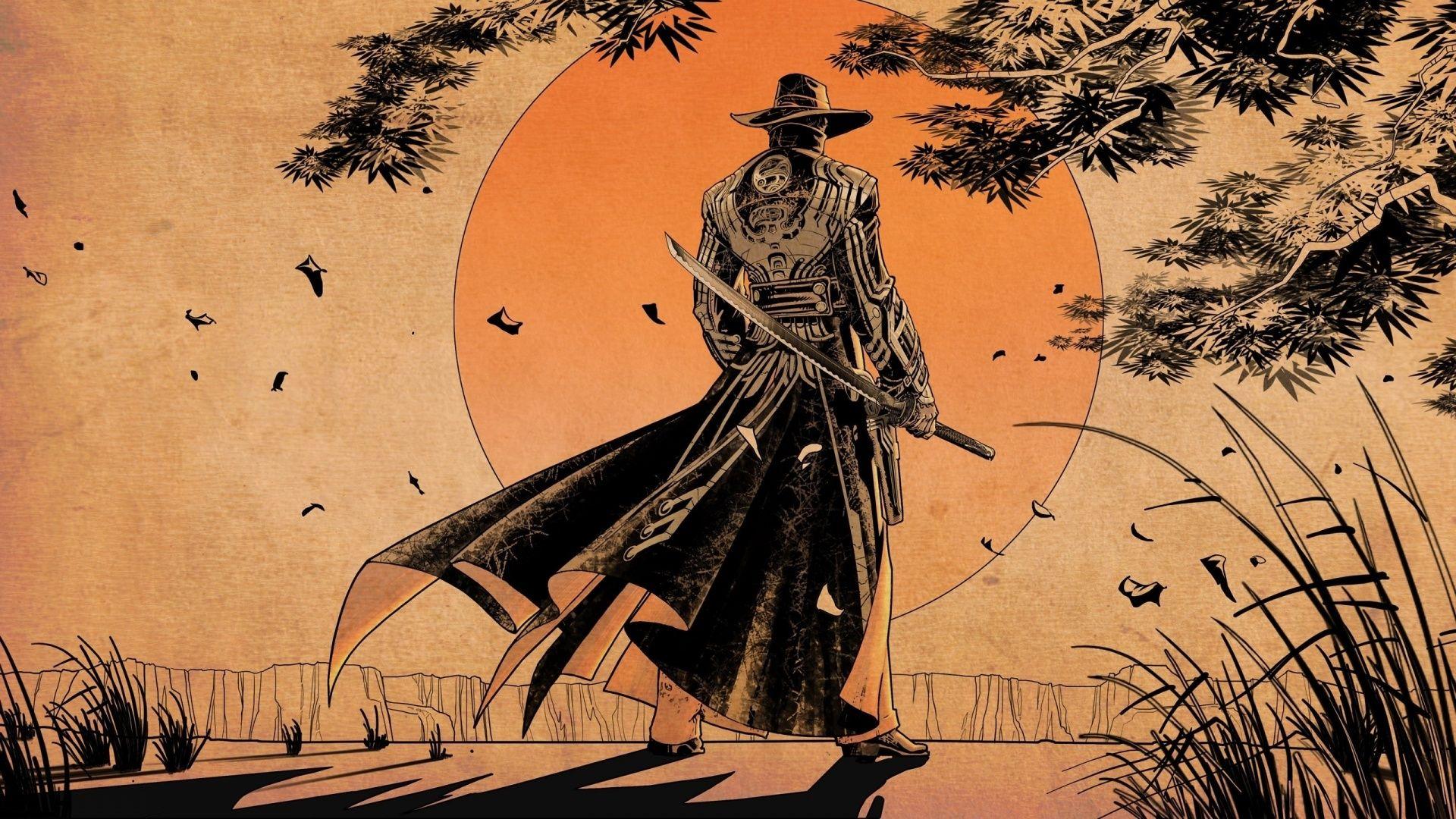 samurai art wallpaper hd Anime Pinterest Colors