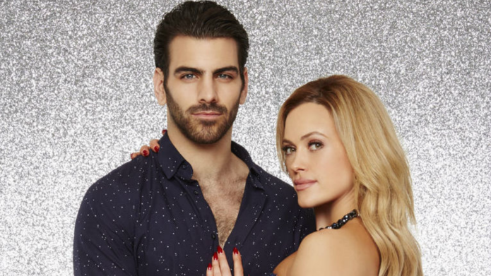 Dancing with the Stars contestant Nyle DiMarco says he doesn't want #hearingaids or implants - he's happy being deaf.