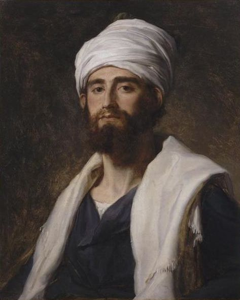 Pierre-Narcisse, Baron Guerin, Portrait of a Member of the Expedition to Egypt, 19th c.