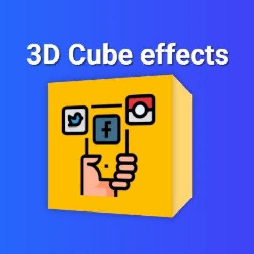 Roman Termyanen Na Instagramie 3d Cube Hover Effects 3d Cube Cube Logo Design
