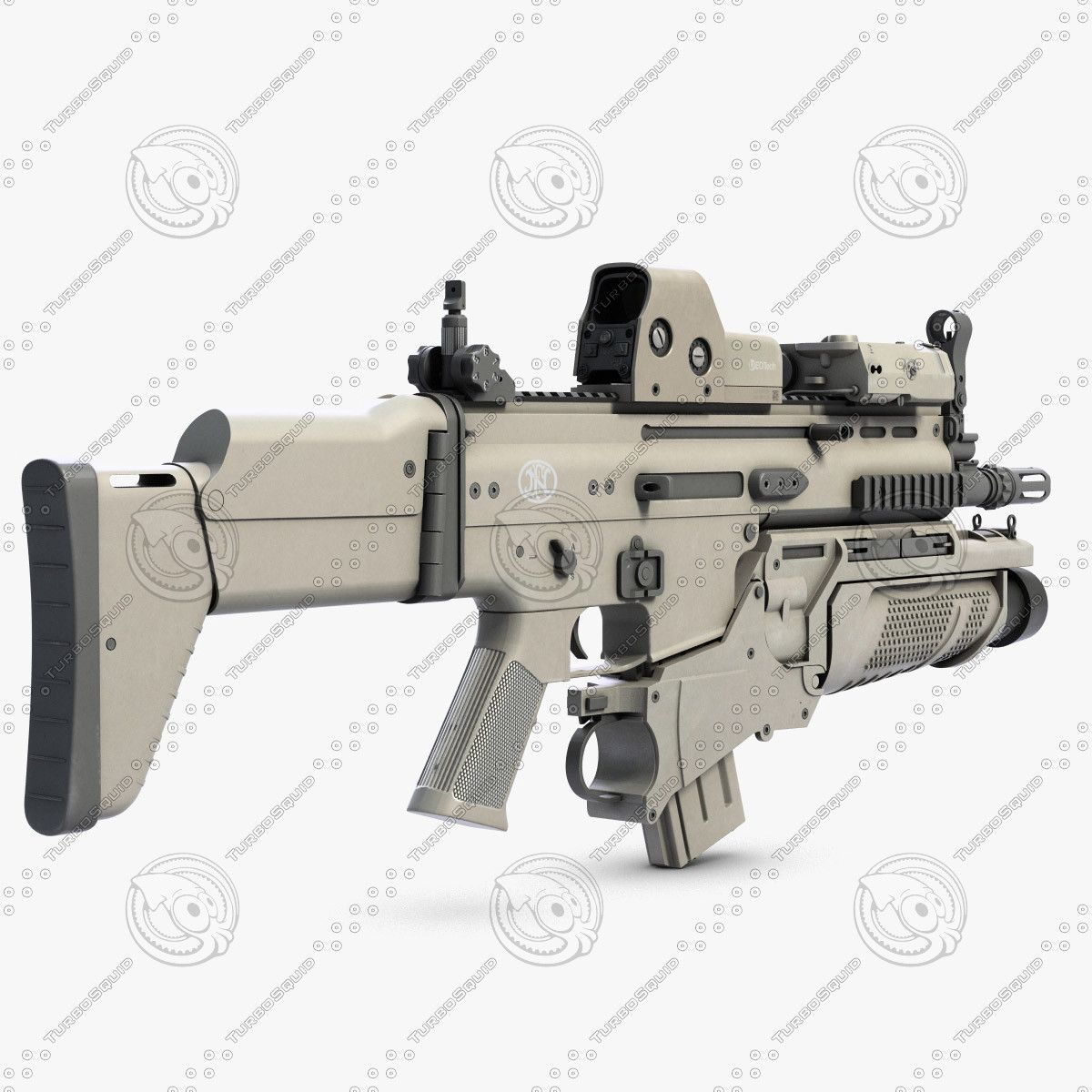 3ds combat assault rifle fn scar | army | Fn scar, Guns