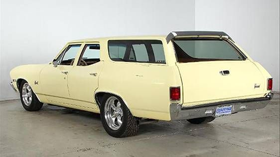 1968 Chevrolet Chevelle Nomad Station Wagon Custom Offered For