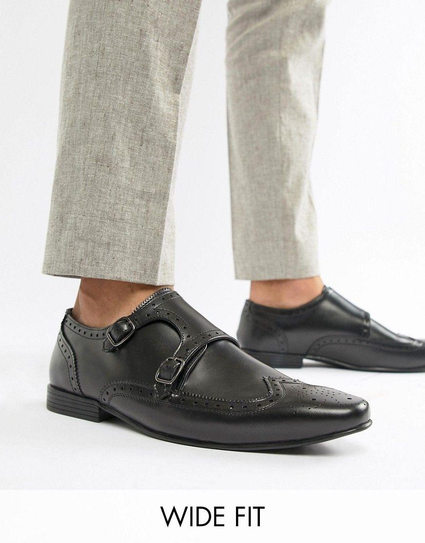 0c17df4c95d KG KURT GEIGER KG BY KURT GEIGER WIDE FIT KILCARDY MONK SHOES - BLACK.   kgkurtgeiger  shoes