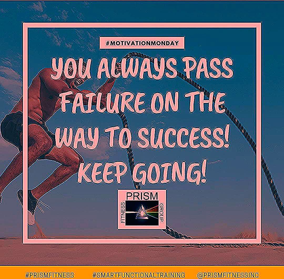 Even if failure catches you, keep going! You always pass failure on the way to success! #PassFailure...