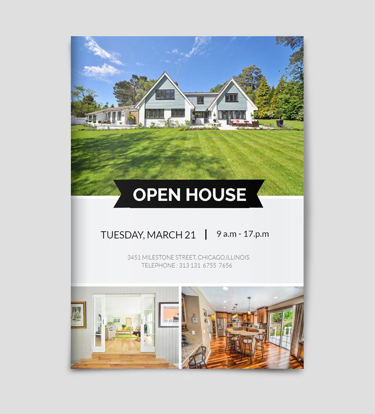 Open House Flyer Template Open House Invitation Open House Open House Real Estate