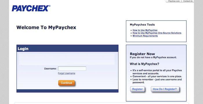 Paychex Employer Login Websites Pinterest