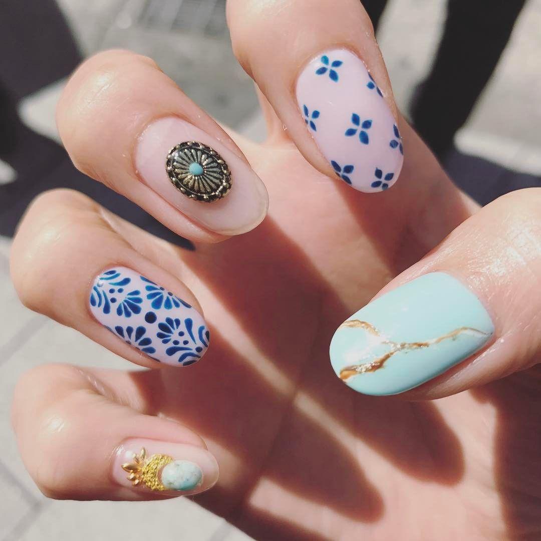 40 Awesome Boho Nail Art Ideas to Adorn Your Nails With | Boho ...