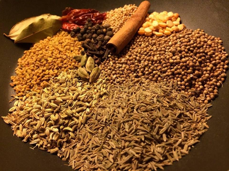 Madras karry.  Mix din egen blanding.