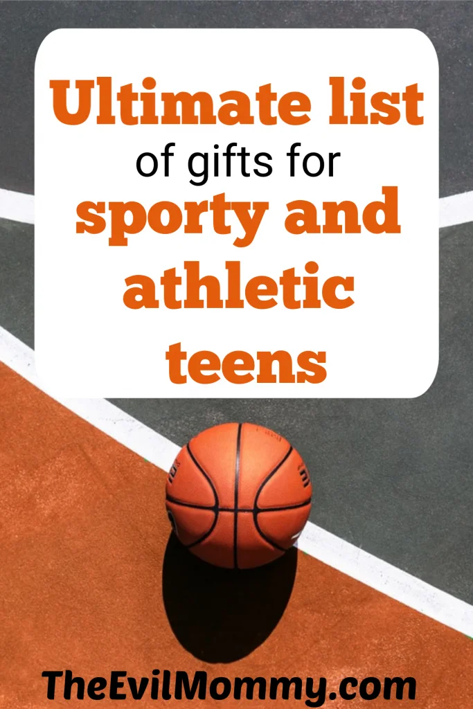 Gifts for all the sporty and athletic teens in your life, complied in one place….