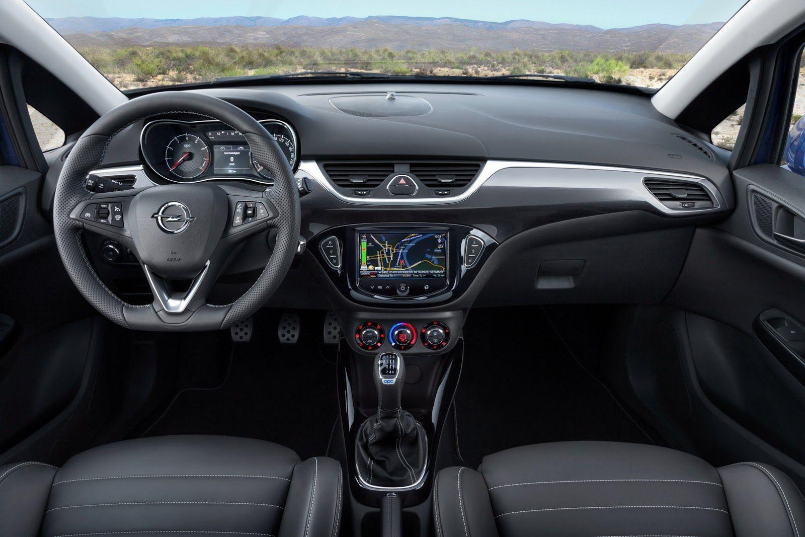New Photos of Opel Corsa OPC Expose Interior