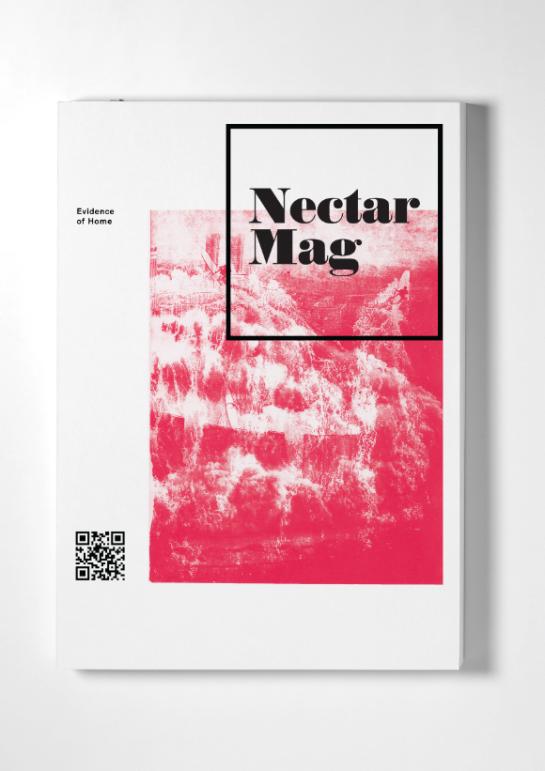 Nectar Cover Magazine Cover Layout Typography Magazine Magazine Layout Design