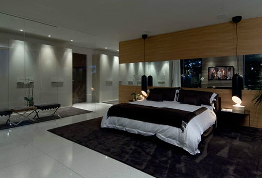 Luxury modern bedroom bedroom pinterest bedrooms for Modern mansion interior