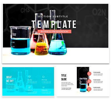General And Molecular Chemistry Powerpoint Template