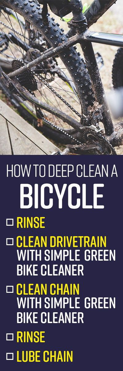 How To Clean A Bicycle Cleaning Bicycle Cleaning Hacks