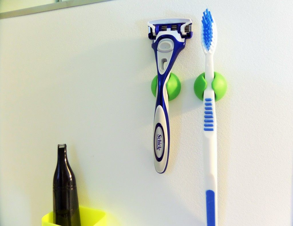 Cable Holder Used To Hold Tooth Brush Razor Bathroom