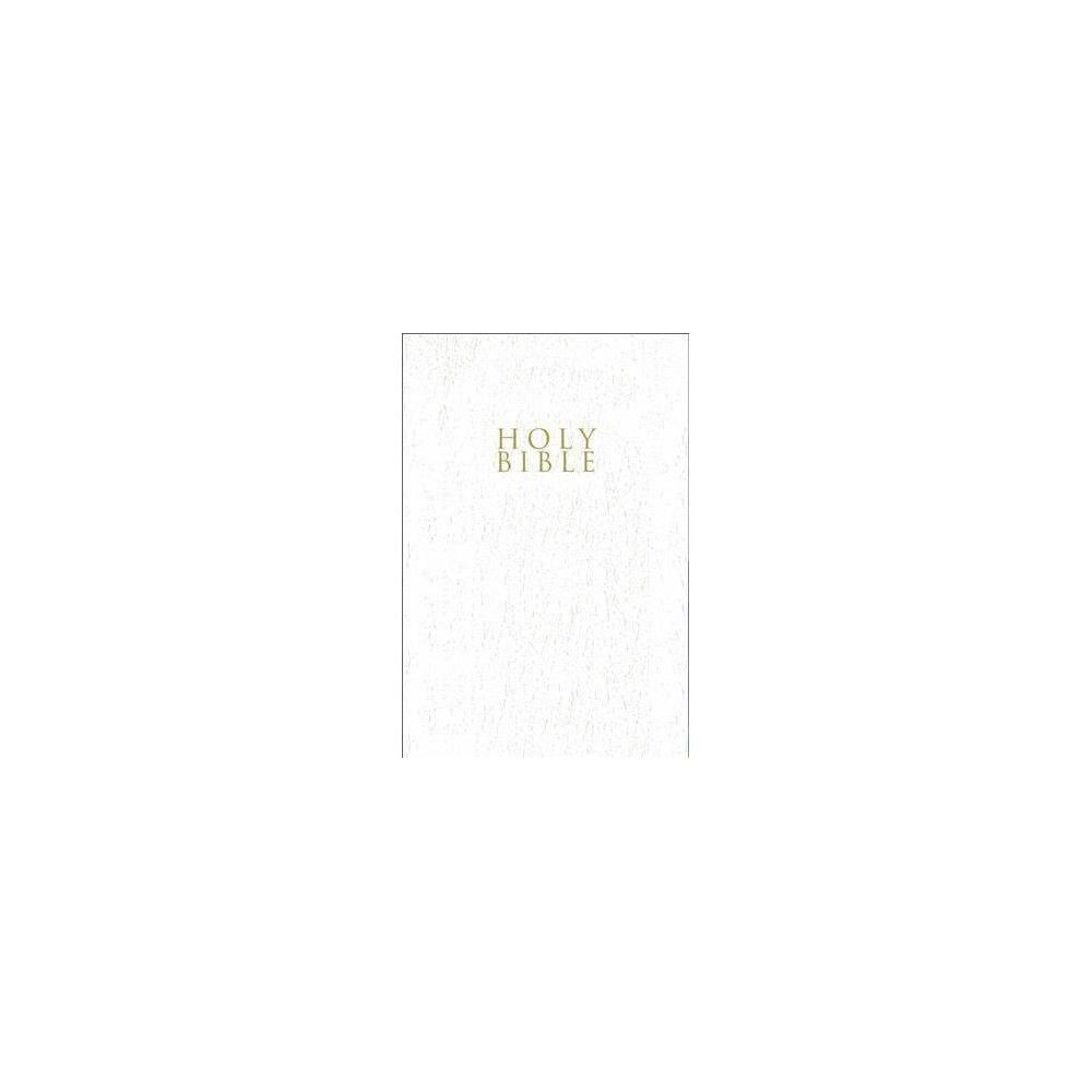 Niv Gift And Award Bible Leather Look White Red Letter Edition