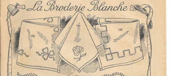 Broderie blanche : le jour turc | Broderie blanche, Modele ...
