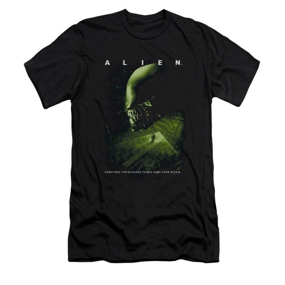 Alien - Lurk Adult Slim Fit T-Shirt