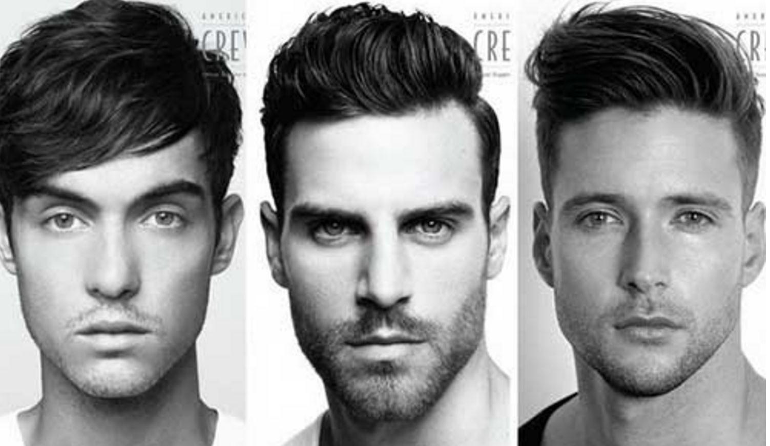 Uzun Yuzlu Erkekler Icin 2018 Moda Sac Modelleri Erkek Sac Modelleri Erkek Saci Sac