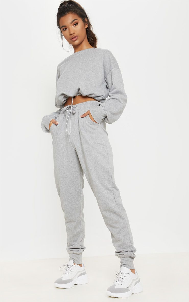 Grey Basic Gym Sweat Jogger Sweat Joggers Sweats Outfit Clothes