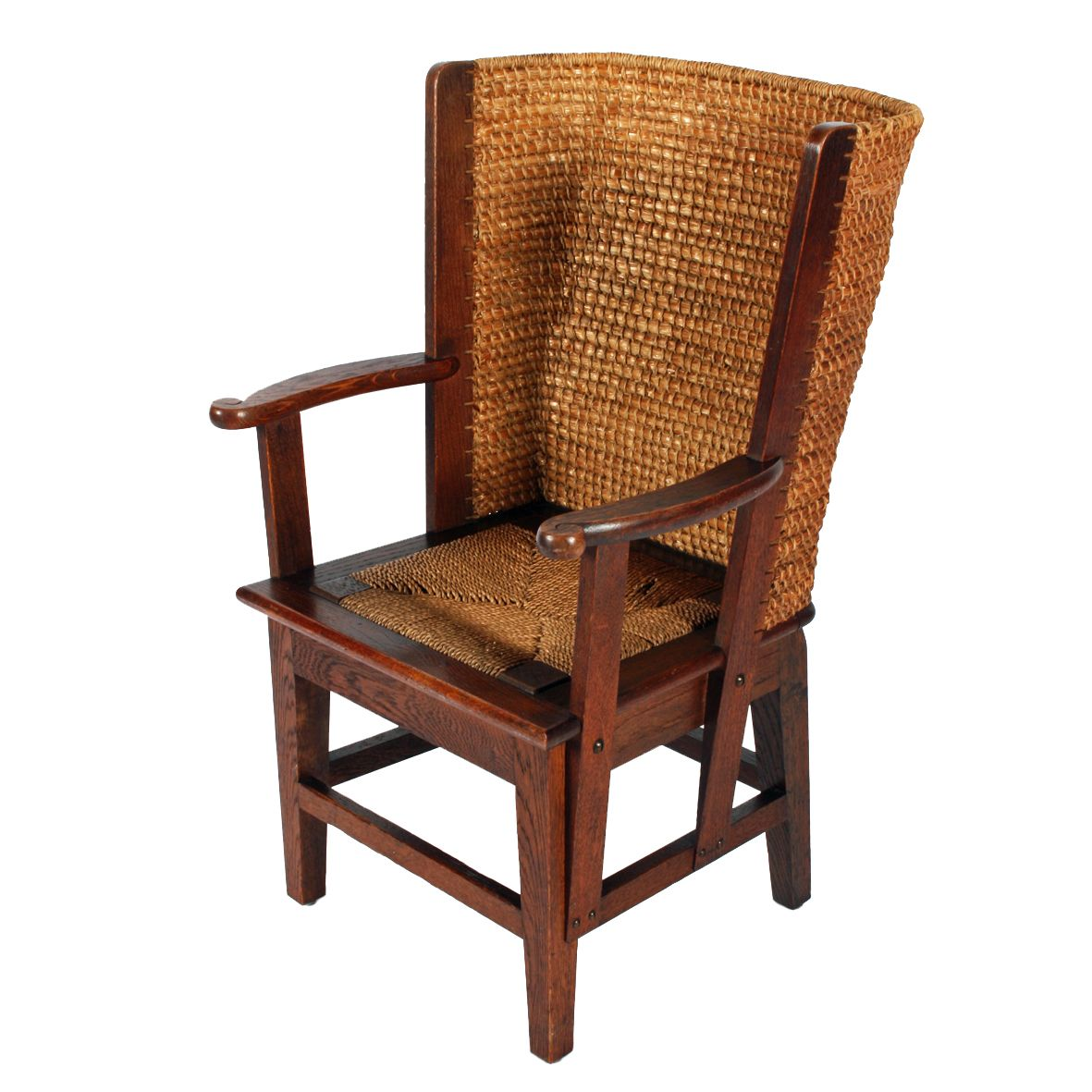 Lady's Oak Orkney Chair   Antique chairs and Victorian