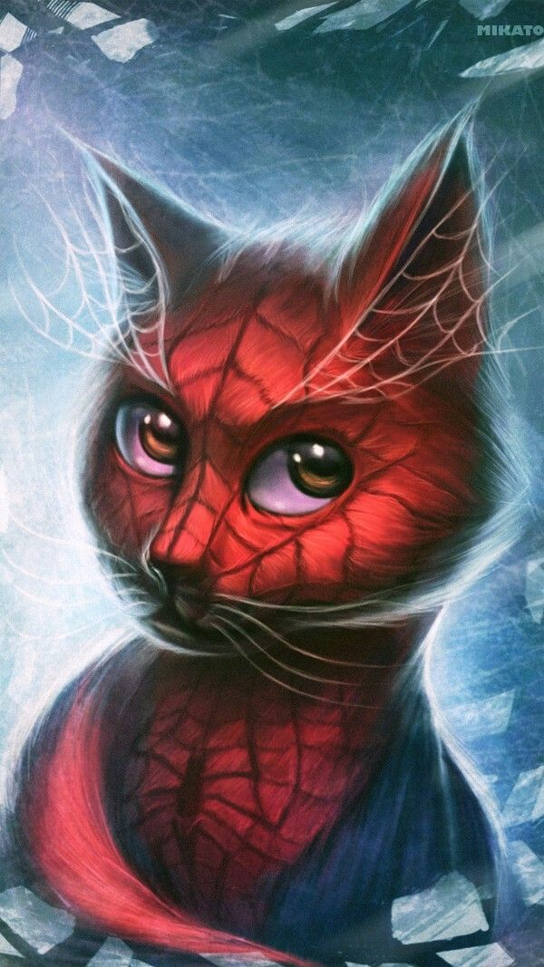 awesome living room wallpaper home designs ideas spider-cat | marvel and dc pinterest spider