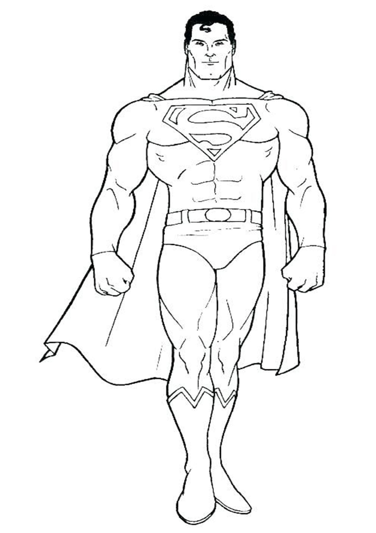Free Easy To Print Superman Coloring Pages In 2020 Superman Coloring Pages Superhero Coloring Hulk Coloring Pages