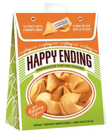 Happy Ending Fortune Cookies - Provocative Edition - 7 Pack  by Icon Brands Inc $10.40