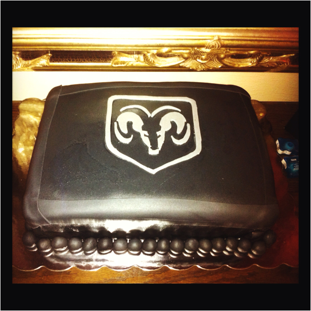 Dodge cake. Would be awesome for a birthday!