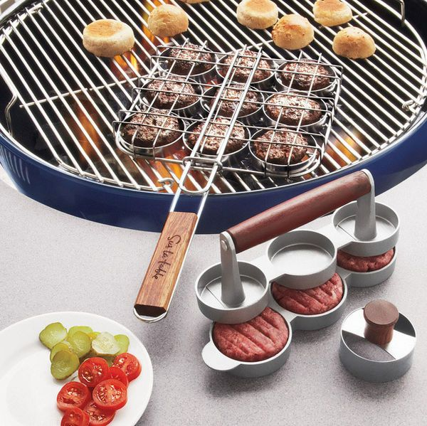 Slider mini burger 3 piece set 3 kitchen stuff for Utensilios de cocina kitchen