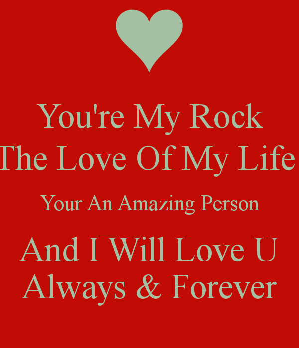 Youre My Rock Come On Smile Pinterest Love Quotes Love And