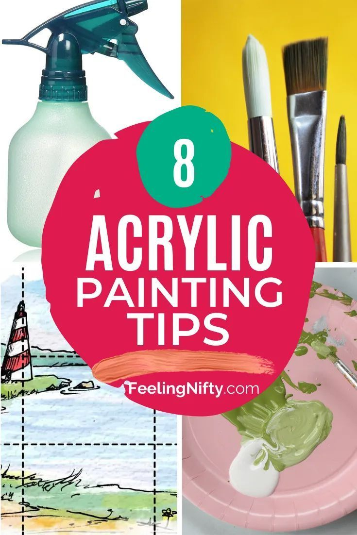 8 Acrylic Painting Tips Every Beginner Should Know ...