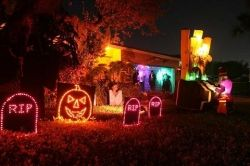 ever drive by a house with flashing halloween decorations theyre not flashing randomly - Best Halloween Decorations Ever