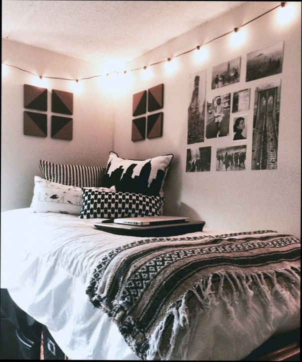 Black And White Dorm Room Ideas Home Decor Studio White Dorm Room Cozy Bedroom Design Bedroom Decor Cozy