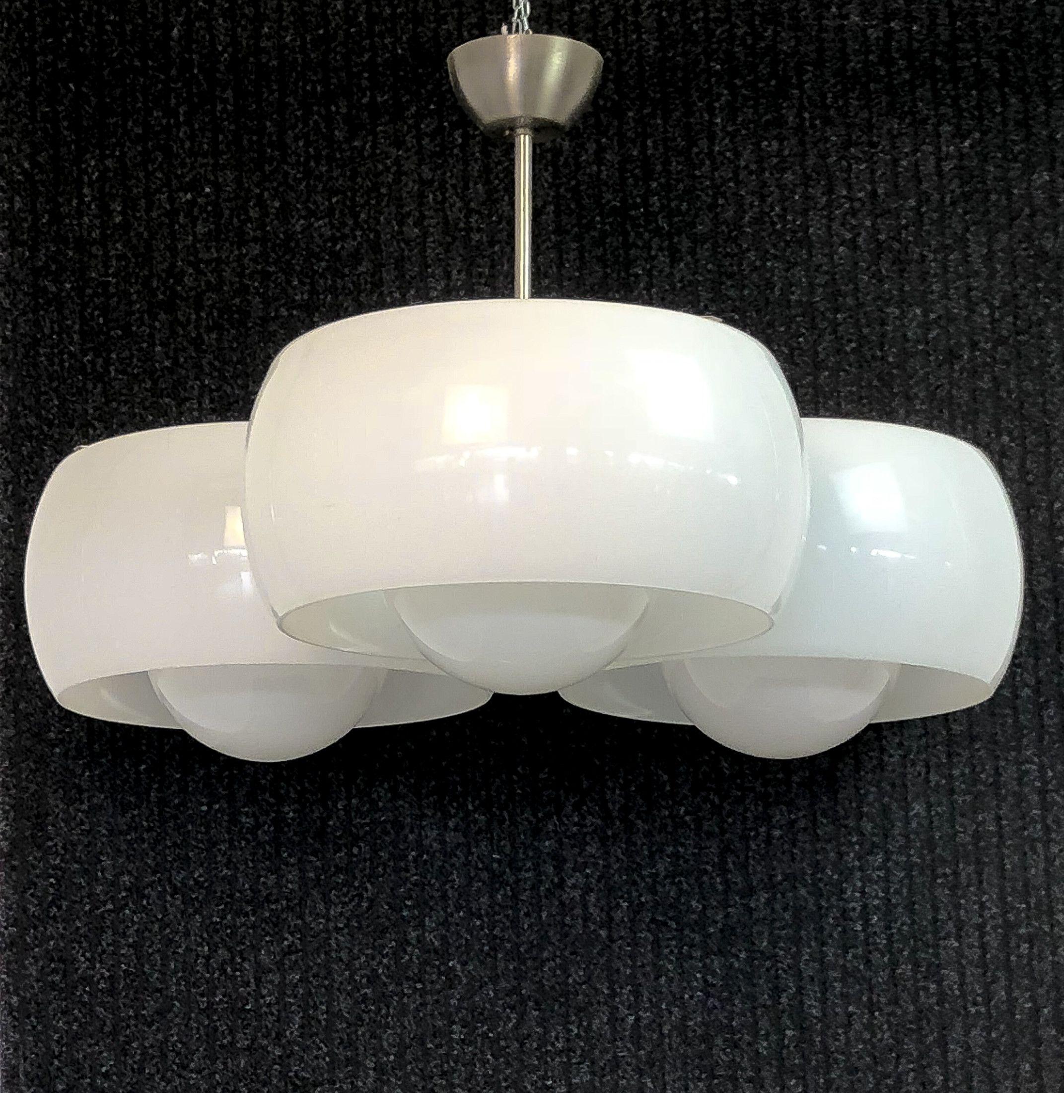 Lampadario A Sospensione Di Design Triclinio Vico Magistretti Per Artemide Italia 1963 Vicomagistretti Ar Lampadario Vintage Lampadario Lampada Vintage