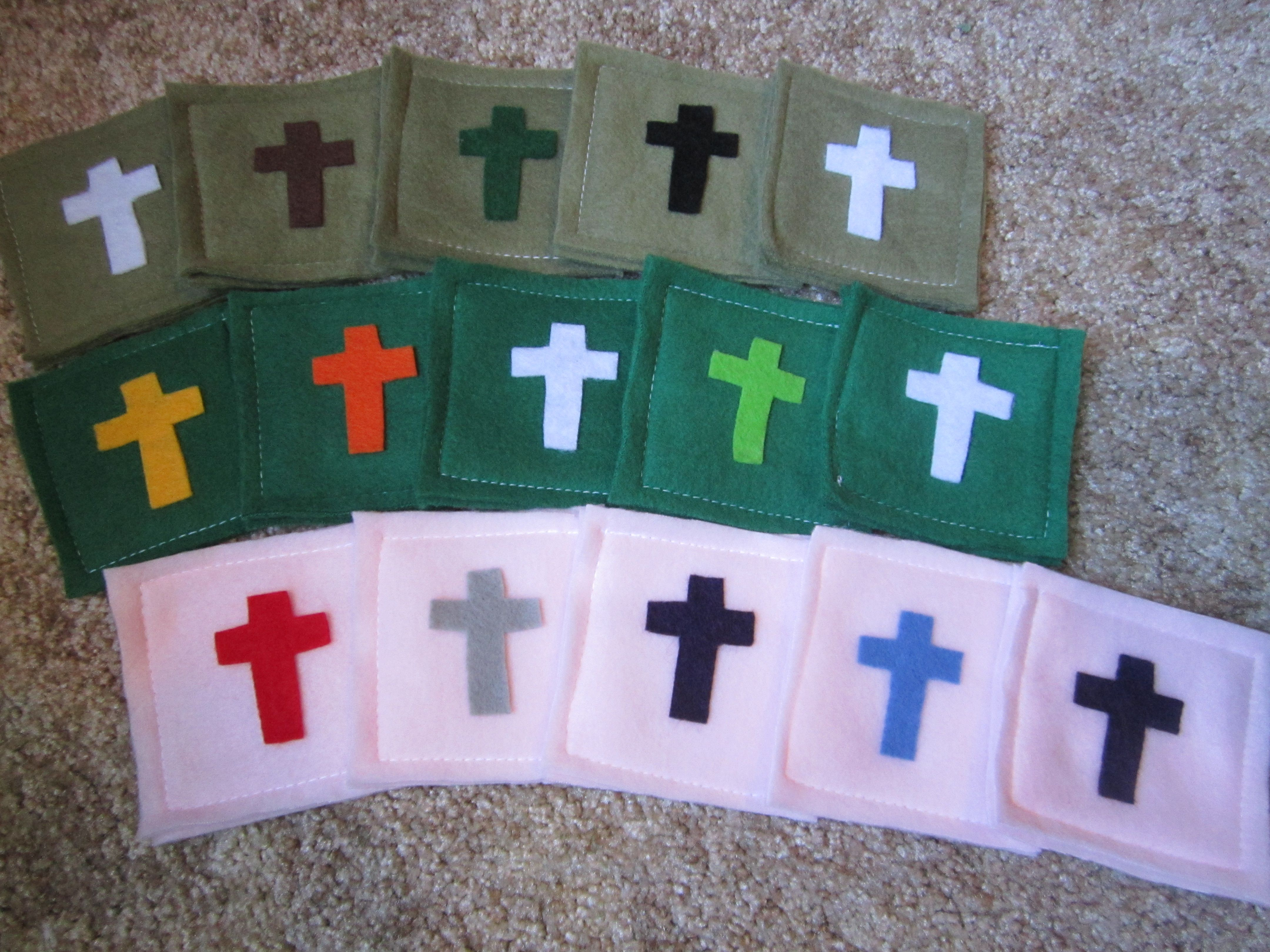 Vacation bible school crafts ideas - Comfort Squares Are A Simple Craft Idea For A Sunday School Lesson Or Children S Sermon About