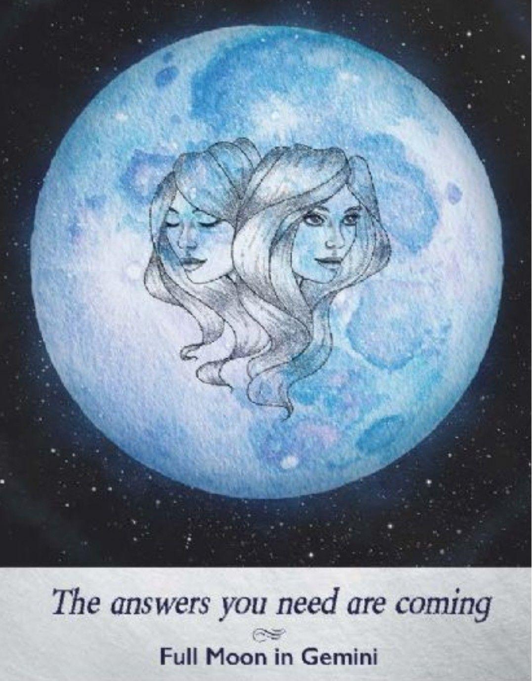 Moonology oracle yasmin boland full moon in gemini the